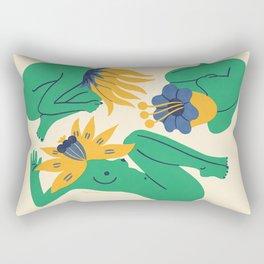 Bloomers Rectangular Pillow