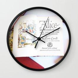 Alice in Wonderland 3 Wall Clock