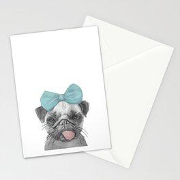 Pug Love Stationery Cards