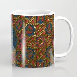 Islamic Geometry Orientalist Middle eastern Arabian Persian Vintage Style Moroccan Rugs Coffee Mug