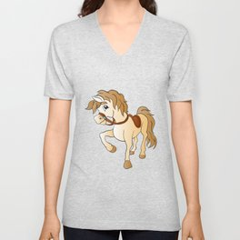 Beautiful horse Unisex V-Neck