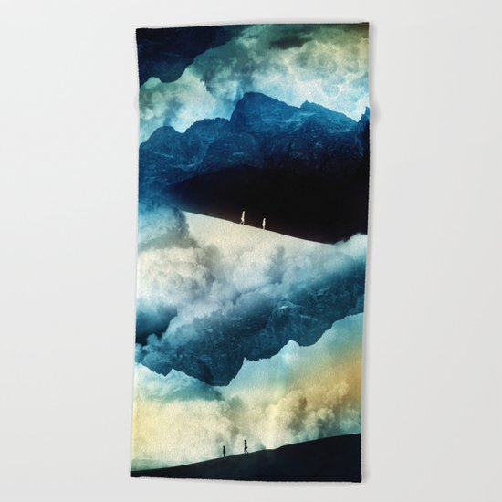 State of isolation Beach Towel