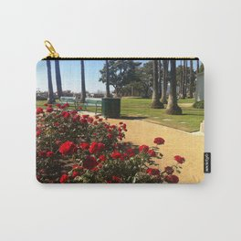 Stop and Smell the Roses ~ Palisades Park, Santa Monica, CA Carry-All Pouch