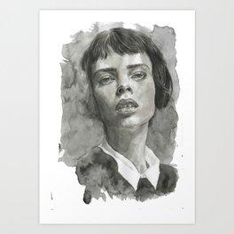 Deep Looking Art Print