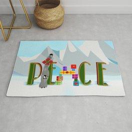 Penquin Chicks: Adding Last Piece to Peace Rug