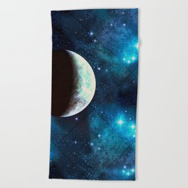 Moonbeam Beach Towel