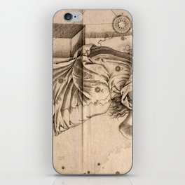 Bayer's Uranometria 1661 - Andromeda iPhone Skin