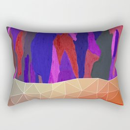 Abstract Colorful Pastel look Design Rectangular Pillow