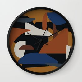 Días cálidos Wall Clock