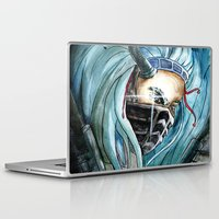 warrior Laptop & iPad Skins featuring Warrior by Anna Pietrawska