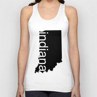 indiana Tank Tops featuring Indiana by Isabel Moreno-Garcia