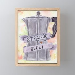 Strange Brew Framed Mini Art Print