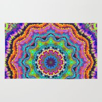 carnival Area & Throw Rugs featuring Carnival by Groovity