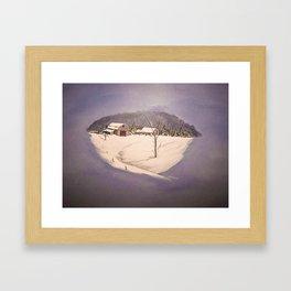 Janurary Morning Framed Art Print