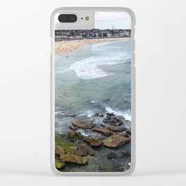 View of Bondi Clear iPhone Case