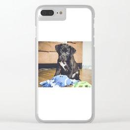 Otis 3 Clear iPhone Case