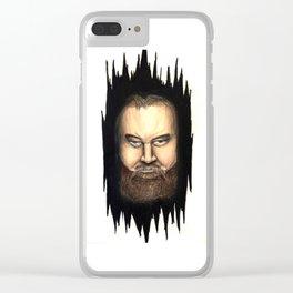 "WWE Superstar Bray Wyatt ""Peek-A-Boo"" Clear iPhone Case"