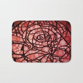 Scarred Rose Bath Mat
