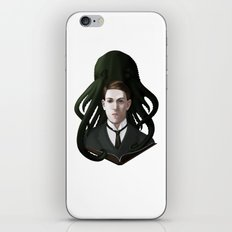 H P Lovecraft iPhone & iPod Skin