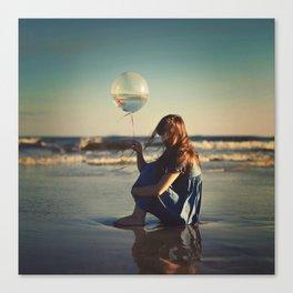 It takes an ocean Canvas Print