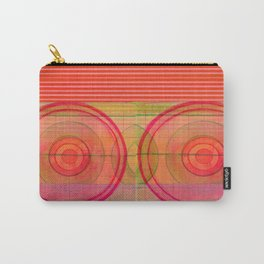 double pink Carry-All Pouch
