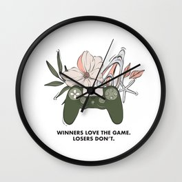 Winners quote Wall Clock