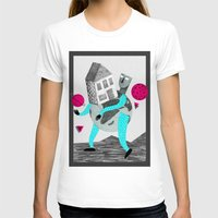 globe T-shirts featuring GLOBE by Vértice Design Studio