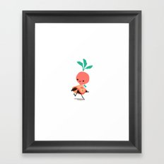 Adventurer Raphanus Framed Art Print