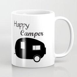 Cute Camping Shirt, Cute Happy Camper Design, Happy Camper shirt for women, Cute Mom Camping Shirt, Coffee Mug