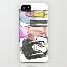 Clothing composition iPhone Case