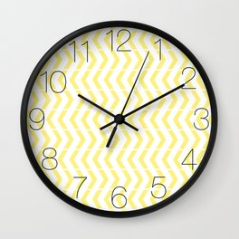 Play Yellow Wall Clock