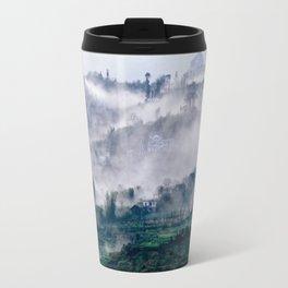 Foggy Mountain of Sa Pa in VIETNAM Travel Mug