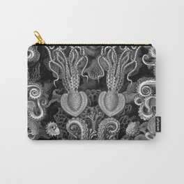 The Kraken (Black & White - NoText, Alt.) Carry-All Pouch