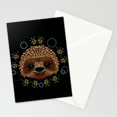 Sloth Face Stationery Cards