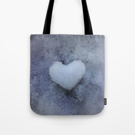 Heart of Ice Tote Bag