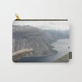Laying on the edge of the world Carry-All Pouch