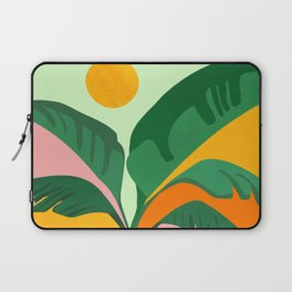Things Are Looking Up 2 - Wide View / Tropical Greenery Laptop Sleeve