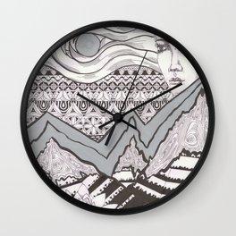 Spirit and wisdom Wall Clock