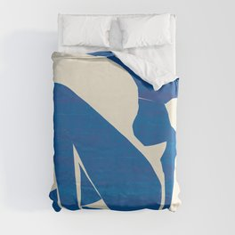 Blue Nude #1- Henri Matisse Duvet Cover