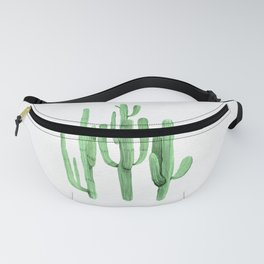 Cactus Trio Green by Nature Magick Fanny Pack