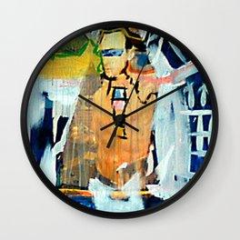 White Bird Love Wall Clock