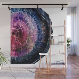 Amethyst and Cobalt Partial Geode Wall Mural