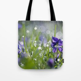 violet morning Tote Bag