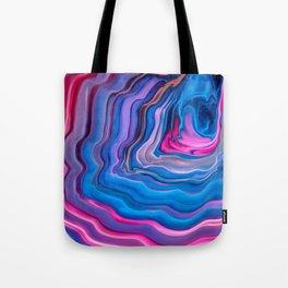 Color Flow Tote Bag