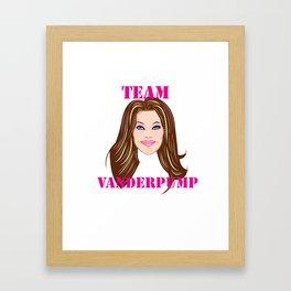 TEAM VANDERPUMP! Framed Art Print