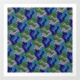 Geometrix 103 Art Print