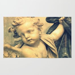 The Hallelujah Cherub. Rug