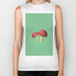 Little Mushrooms Biker Tank