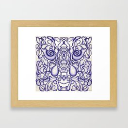 Mind-Brain Framed Art Print