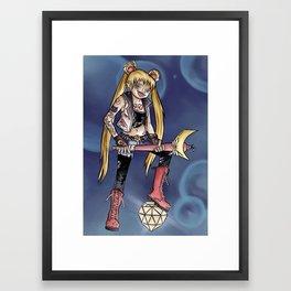 Fighting Evil Framed Art Print